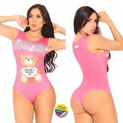 Body Moschino rosa